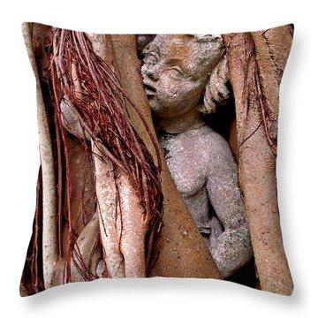 Banyan Boy Close Up Throw Pillow