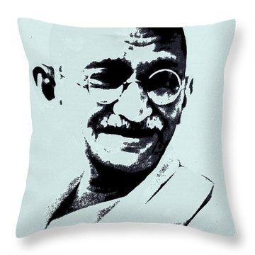 Bappu Throw Pillow