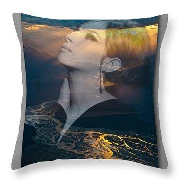 Barbra's Vision Throw Pillow