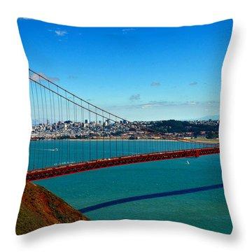 Barche Throw Pillow