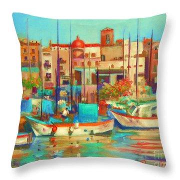 Bari Italy Throw Pillow