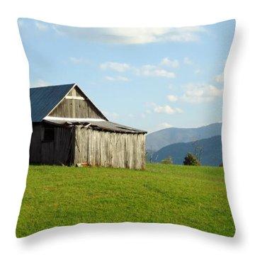 Barn #1 Throw Pillow