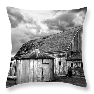Barn 66 Throw Pillow