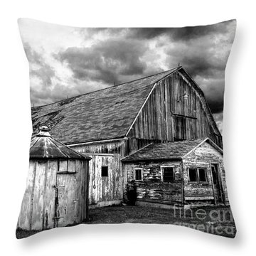 Barn 66 Throw Pillow