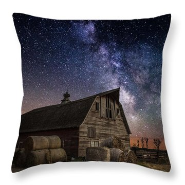 Barn Iv Throw Pillow