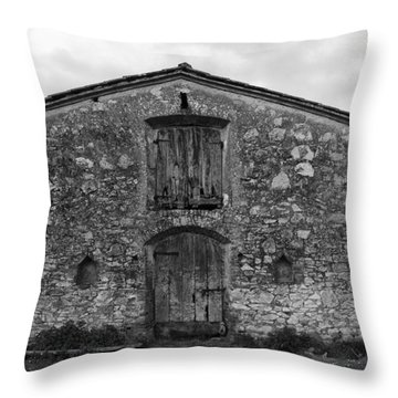 Barn Sienna Throw Pillow by Hugh Smith