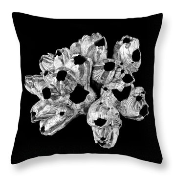 Barnacle Shell Throw Pillow
