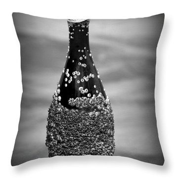 Barnacles And Wine Throw Pillow