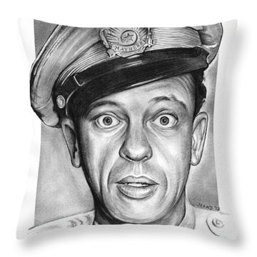 Barney Fife Throw Pillow