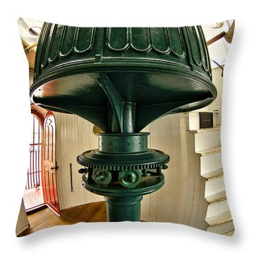 Barney's Gears Throw Pillow by Mark Miller