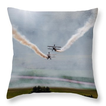 Barnstormer Late Afternoon Smoking Session Throw Pillow