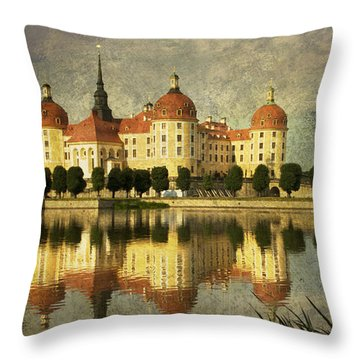Baroque Daydream Throw Pillow by Heiko Koehrer-Wagner