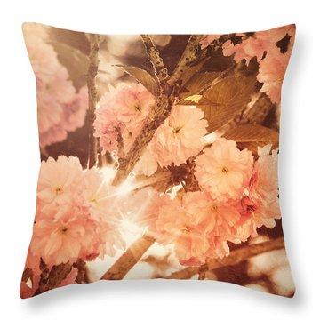Baroque Spring Throw Pillow
