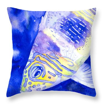 Barred Hamlet Portrait Throw Pillow
