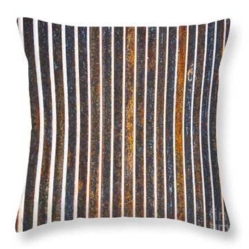 Throw Pillow featuring the photograph Barred by Kristen Fox