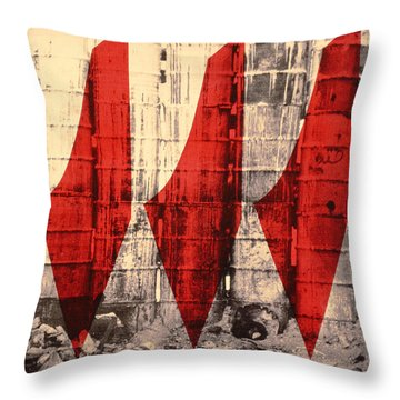 Barriers To Statehood Throw Pillow