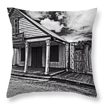 Barthel General Merchandise Store Throw Pillow