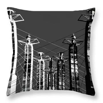Bartle Hall Throw Pillow