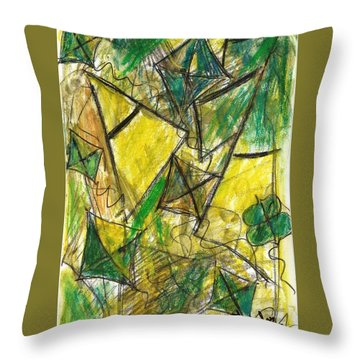 Basant - Series Throw Pillow