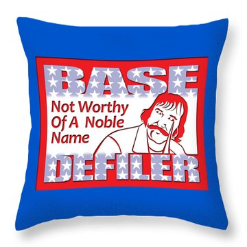 Gangs Of New York Throw Pillow by Timothy Lowry