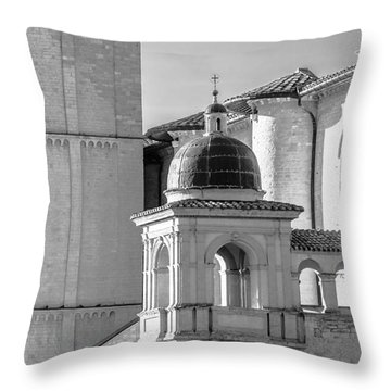 Basilica Details Throw Pillow