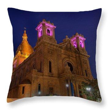 Basilica Of Saint Mary Minneapolis Throw Pillow