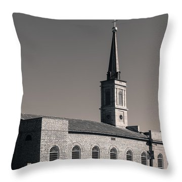 Basilica Of St. Louis Throw Pillow