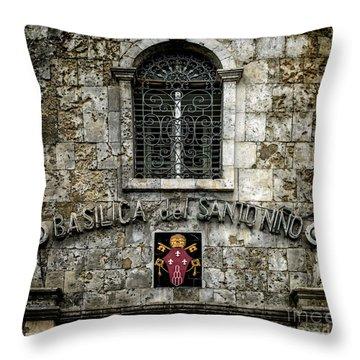 Basilica Sign Throw Pillow