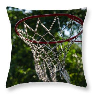 Basket - Featured 3 Throw Pillow by Alexander Senin