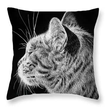 Basking II Throw Pillow