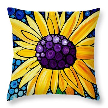 Basking In The Glory Throw Pillow