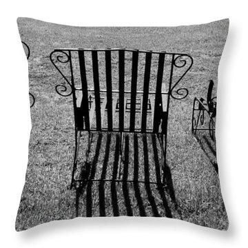 Basking Throw Pillow by Kaleidoscopik Photography