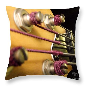 Bass II Throw Pillow by Andrea Anderegg