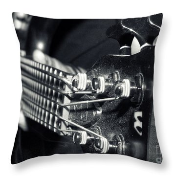 Bass  Throw Pillow by Stelios Kleanthous