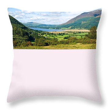 Throw Pillow featuring the photograph Bassenthwaite Lake by Jane McIlroy