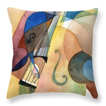 Bassline Throw Pillow