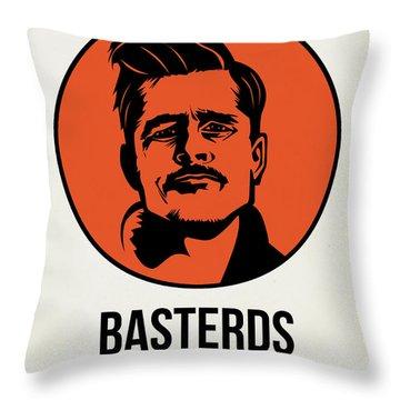 Basterds Poster 1 Throw Pillow