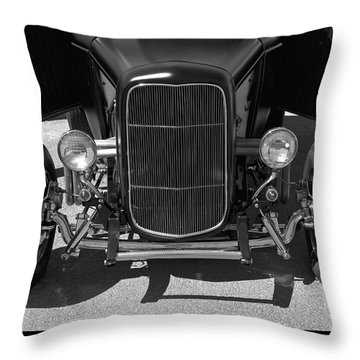 Bat Wings - Ford Coupe Throw Pillow by Jane Eleanor Nicholas