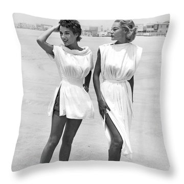Bathing Suit Cover Ups Throw Pillow