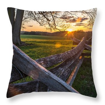 Battle Is Over Throw Pillow