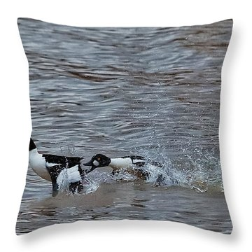 Battle Throw Pillow