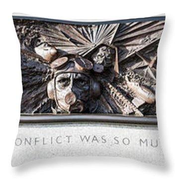 Battle Of Britain Monument London Throw Pillow