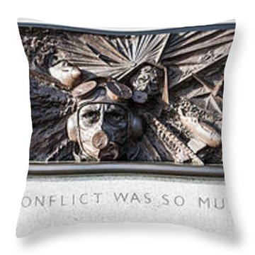 Battle Of Britain Monument London Throw Pillow