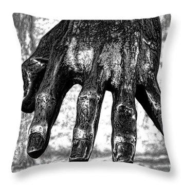 Battle Of Grunwald Monument Throw Pillow by Mariola Bitner