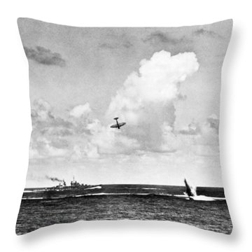 Destruction Island Throw Pillows
