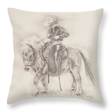 Battle Of Wills Throw Pillow
