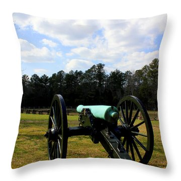 Battlegrounds Of Chattanooga Throw Pillow by Kathy  White