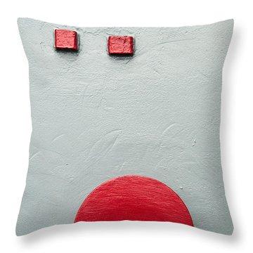 Battleship Abstract Throw Pillow