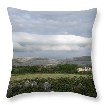 Baughlyvann Clouds Throw Pillow