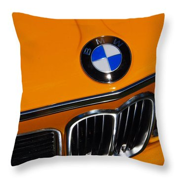 Bavarian Auto Werkes Throw Pillow